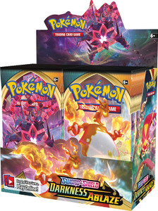Pokemon TCG - Sword and Shield - Darkness Ablaze - Booster Box of 36 Packs