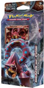 Pokémon TCG: XY Steam Siege Gears of Fire Theme Deck