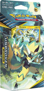 POKEMON SUN & MOON UNBROKEN BONDS LIGHTNING LOOP THEME DECK
