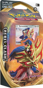 Pokémon TCG: Sword & Shield-Rebel Clash Zamazenta Theme Deck