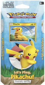 Pokemon TCG: Let's Play, Pikachu! Theme Deck