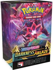 Pokémon TCG: Sword & Shield-Darkness Ablaze Build & Battle Box