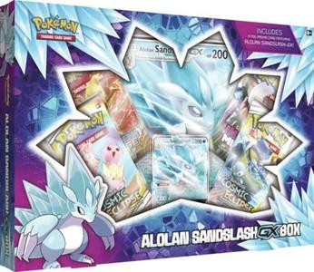 Pokémon TCG: Alolan Sandslash-GX Box