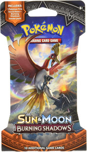 Pokémon TCG: Sun & Moon-Burning Shadows Sleeved Booster Pack (10 Cards)