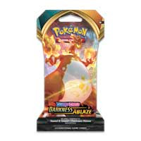 Pokémon TCG: Sword & Shield-Darkness Ablaze Sleeved Booster Pack (10 Cards)