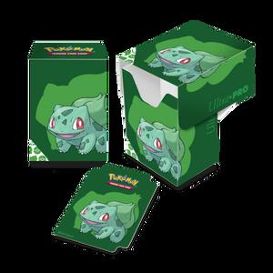ULTRA PRO DECK BOX Bulbasaur Full View Deck Box