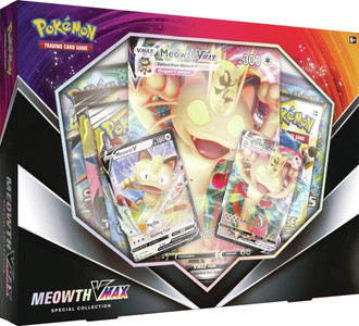 Pokémon TCG: Meowth VMAX Special Collection
