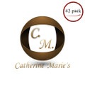 Catherine Marie's French Roast Decaf Coffee Packets 42/CT 1.5 oz