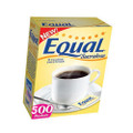 Equal Yellow Sucralose Sweetener 500 Packets