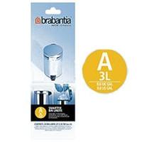 Brabantia 3 litre Webshopsacs poubelles (A)