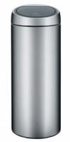 Brabantia 30 litre Touch Bin dans Matt Steel