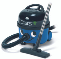 Henry Aspirateur en bleu