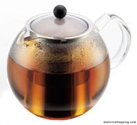 Bodum Assam verre Tea Press filtre en acier inoxydable 1lt