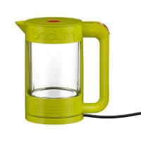 Bodum Bistro 1.1Lt à double paroi en verre vert lime Kettle dans