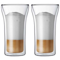 Bodum Assam 2 pc double mur de verre grand
