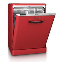 Swan SDW7040RN Retro lave-vaisselle en rouge
