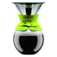 Bodum versez sur la cafetière avec filtre permanent 1 Litre - Vert Citron