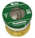 BUSSMANN FUSETRON TD30 30A 125V Class PLUG USED