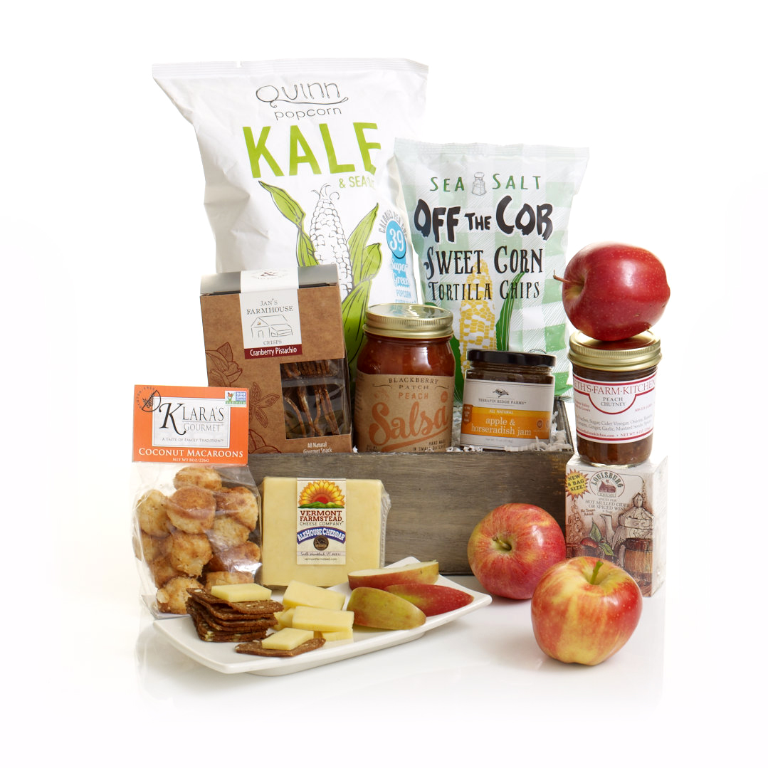 Healthy Harvest of Gourmet Flavors Gift Box