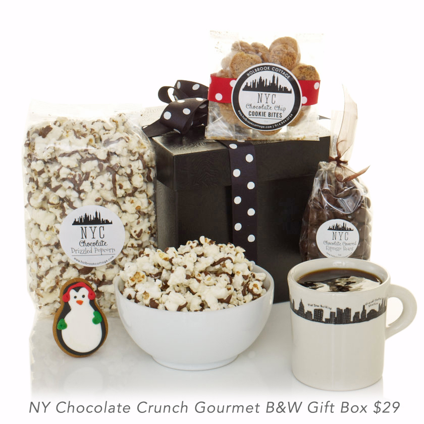NY Chocolate Crunch Gourmet B&W Gift Box