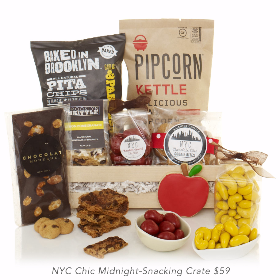 NYC Chic Midnight-Snacking Crate