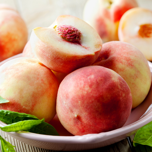 White Peaches - Holbrook Cottage Farm Stand