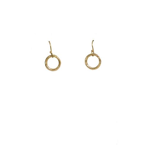 Karama Floating Circle Earrings