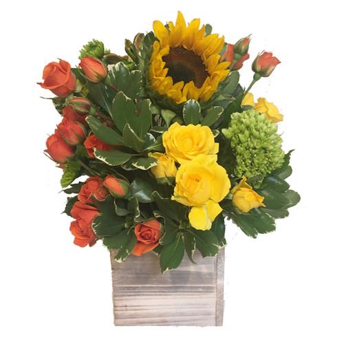 Just Right fresh floral arrangement