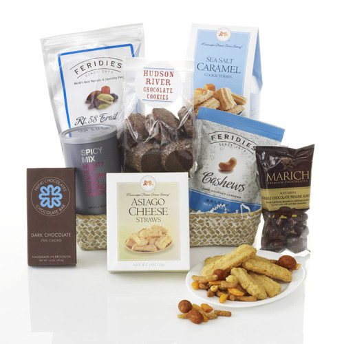 Midnight Cravings Gourmet Treat Basket