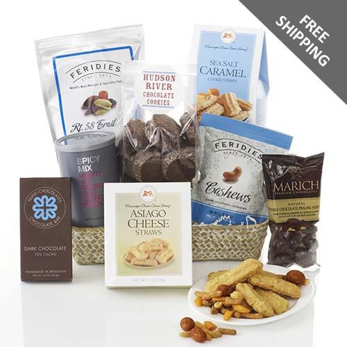 Midnight Cravings Gourmet Treat Basket