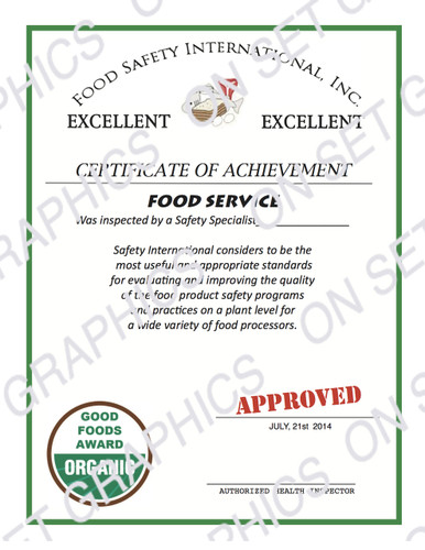 food_achievement_certificate