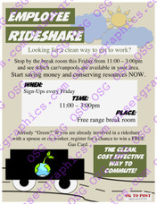 Employee Rideshare
