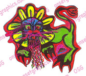 "COLOR STICKER by EDDIE TIQUE  5"" X 4"""