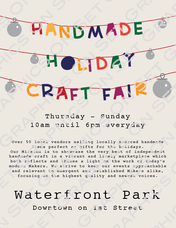 Holiday Market 2 Flyer