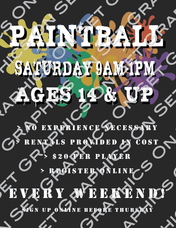 Paintball Tournament