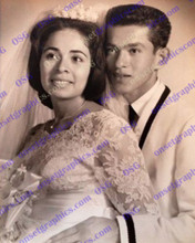 1950 Hispanic Couple Wedding Pic