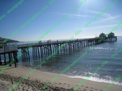 Beach Malibu Pier Perfect Day