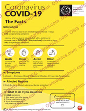 Corona Covid-19 Facts Poster