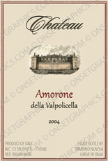 Wine Label - Amorne