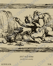 Wine Label - Cabernet Sauvignon