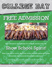 College Fair Day Flyer
