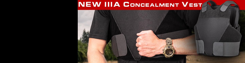IIIA body armor wrap around concealment vest