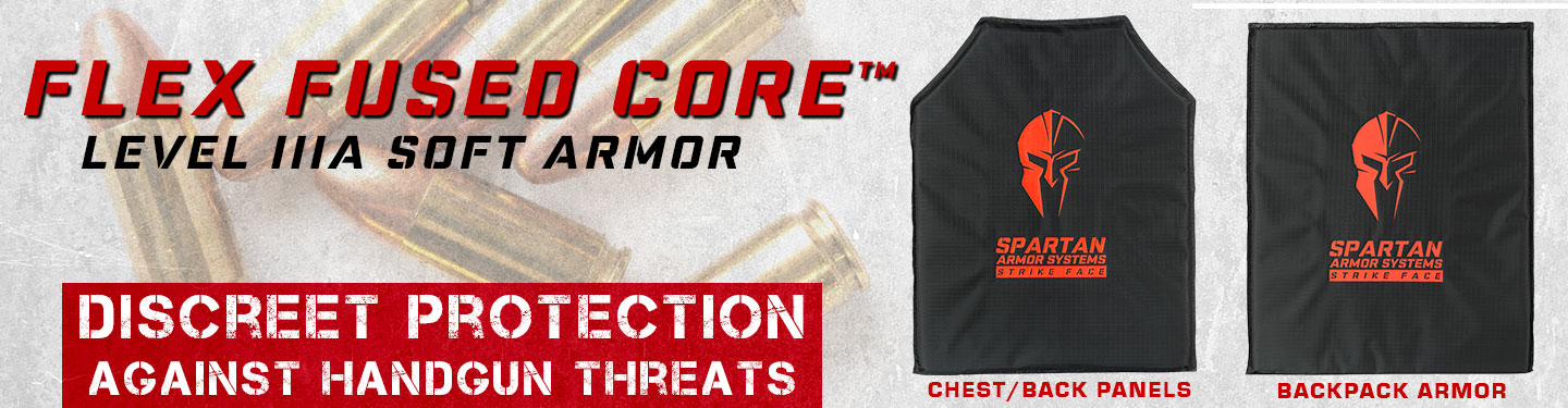 Level IIIA Soft Body Armor