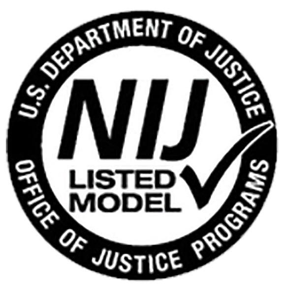 NIJ certification label