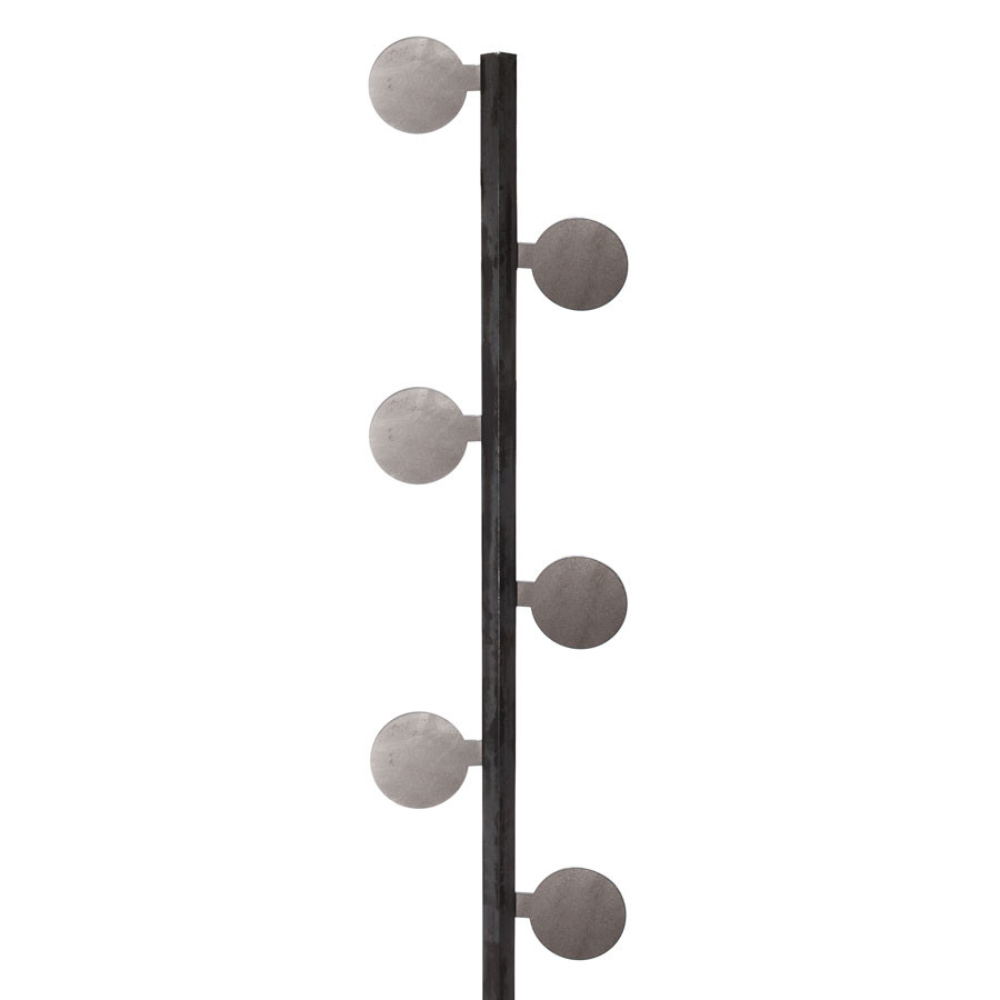 """3//8 thick X 6/"""" diameter round steel plates Circles Target .375 4 pieces"""