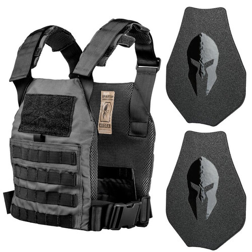 Hydra Plate Carrier and AR500 Omega™ Body Armor (Swimmers Cut) Platform