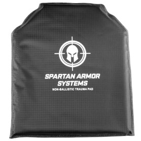 trauma pad set for spartan armor systems ar500 ar550 body armor plates blunt force trauma protection