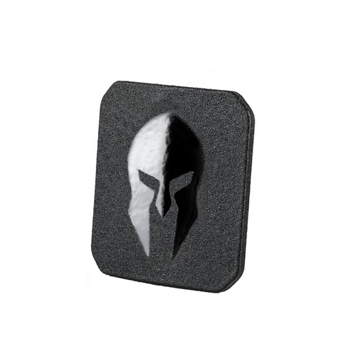 6x6 AR550 side plates for swimmers cut and shooters cut body armor
