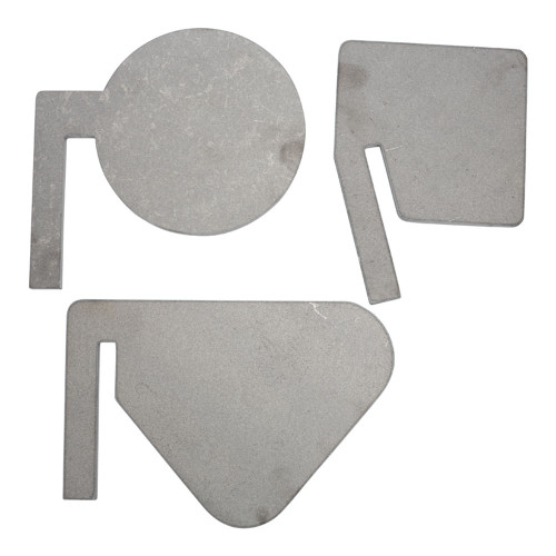 Replacement paddles for Triple Tap AR500 reactive target