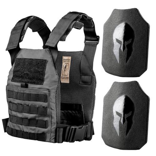 Spartan Armor AR500 level III+ body armor Active Shooter Kit